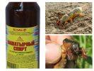 Нашатырный спирт как удобрение в саду и огороде